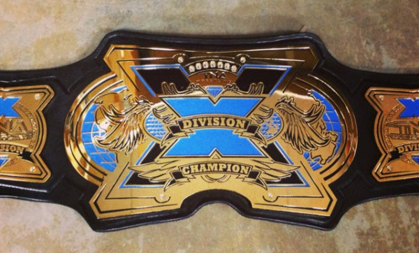 Image » New TNA X-Division Championship Title Belt