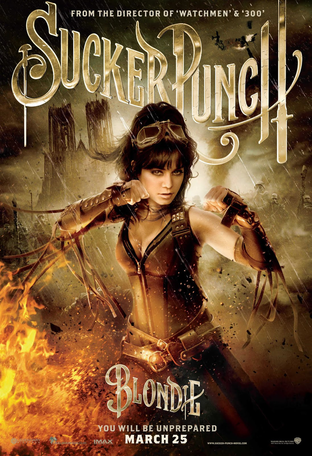 18+ Sucker Punch 2011 Dual Audio 450MB BluRay Hindi Download