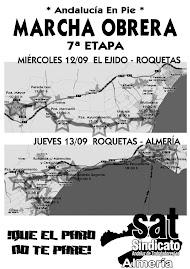 Marcha Obrera - Andalucía en Pie