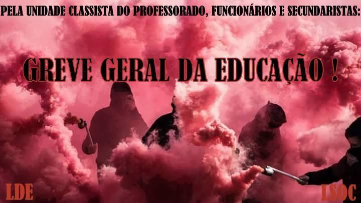 Greve Geral em Defesa da Educação