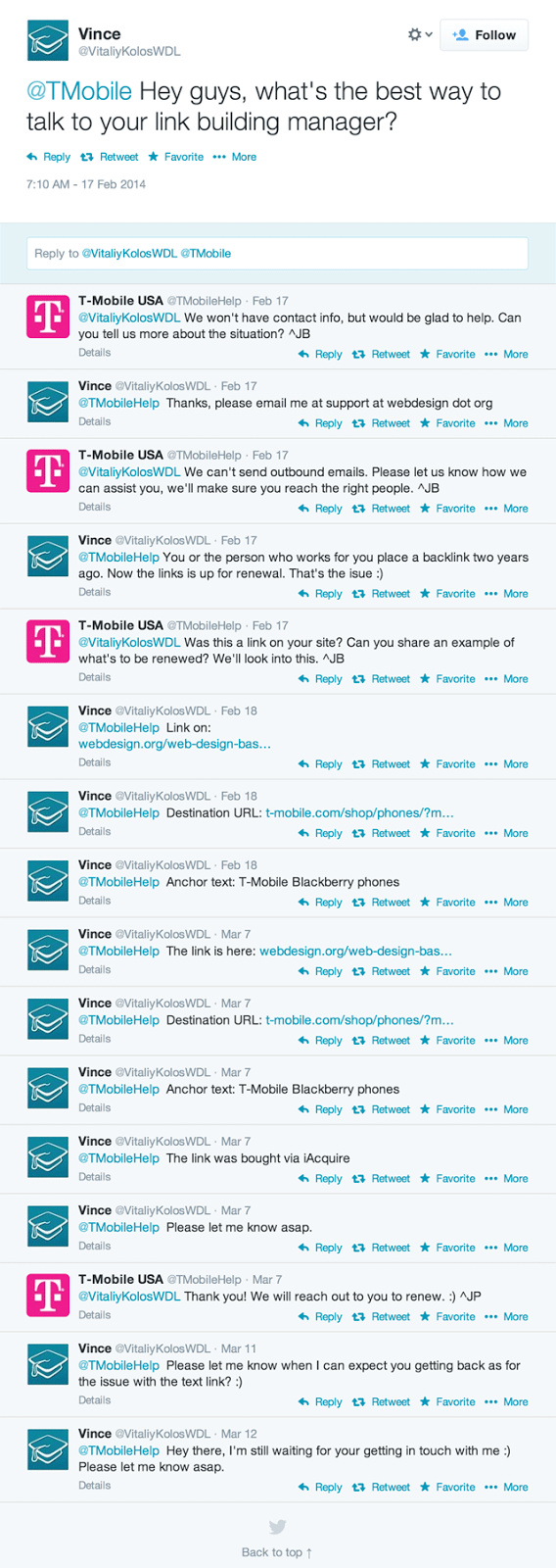 T-Mobile Buying Links
