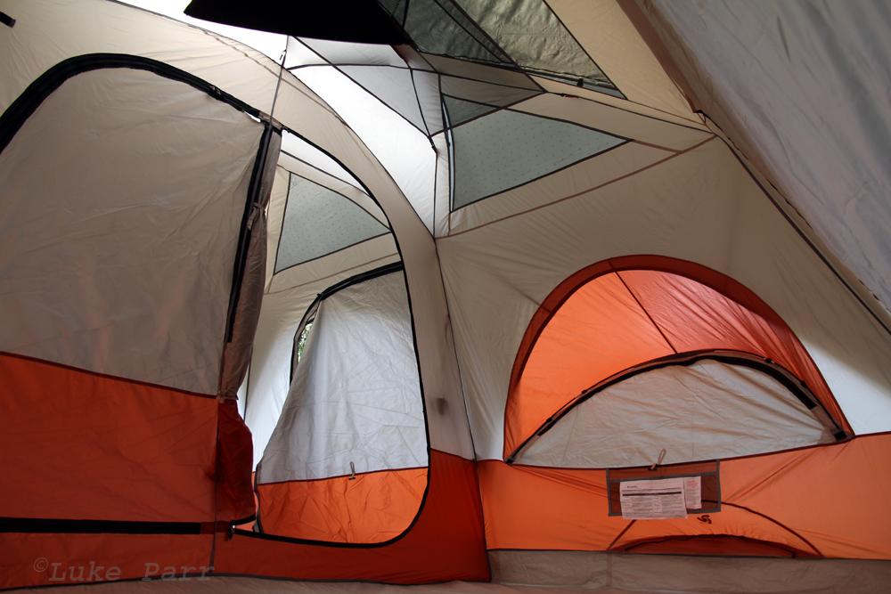 Columbia Cougar Flats II Tent Interior & Rocky Mountain Adventure: Columbia Cougar Flats II Tent Review