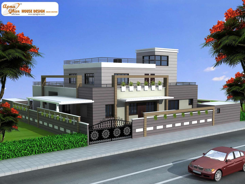 Duplex House Design, Duplex House Plan