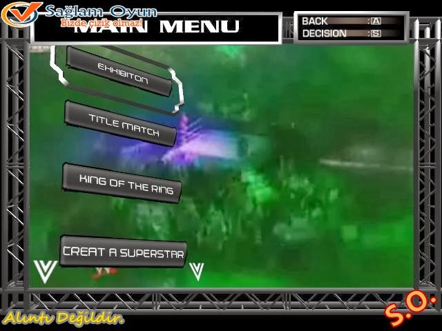 wwe raw ultimate impact 2009 full tek link ındir sağlam oyun all wwe