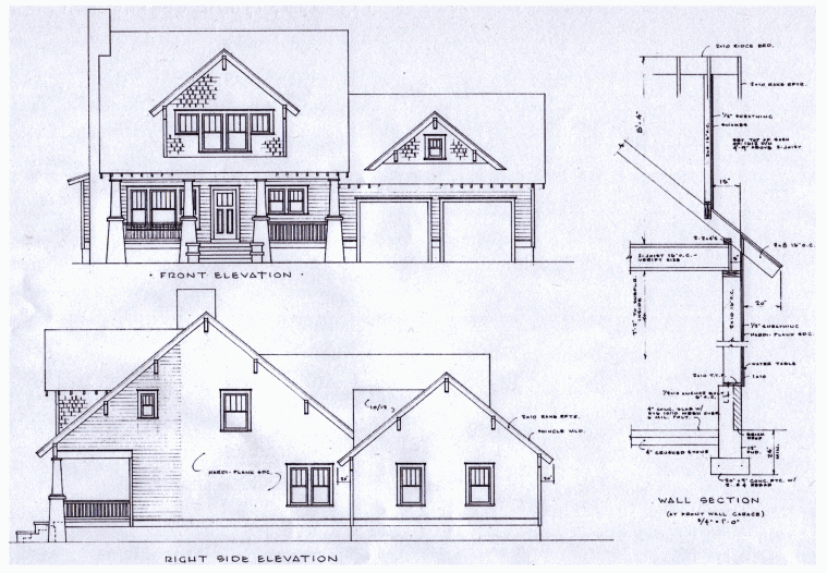 New old houses plans House plan