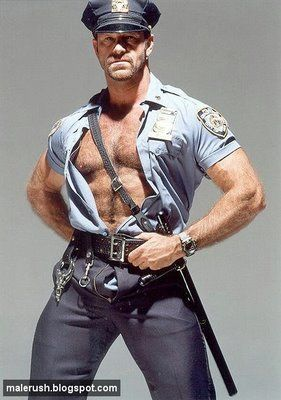 cop Gay muscle