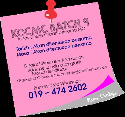 NEXT Kelas Online Clipart bersama MC (KOCMC)