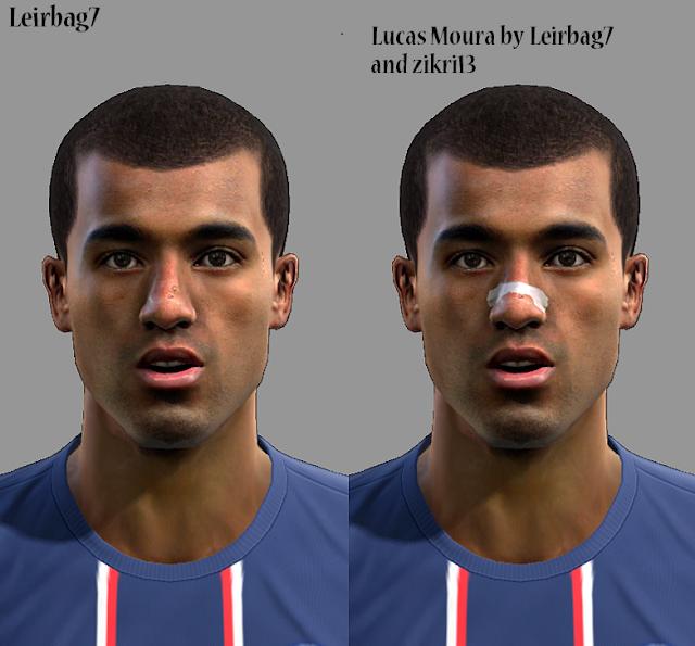Coisas Para PES: PES 2013: Face Lucas Moura