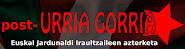 post- URRIA GORRIA