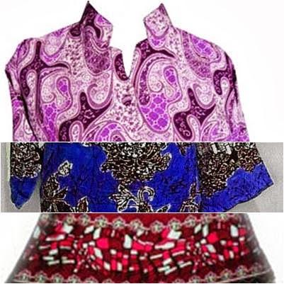 model dress batik terbaru 2014 - Ayu Batik Pekalongan