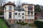 Casa en Médan de Émile Zola (fotografía de 2008)
