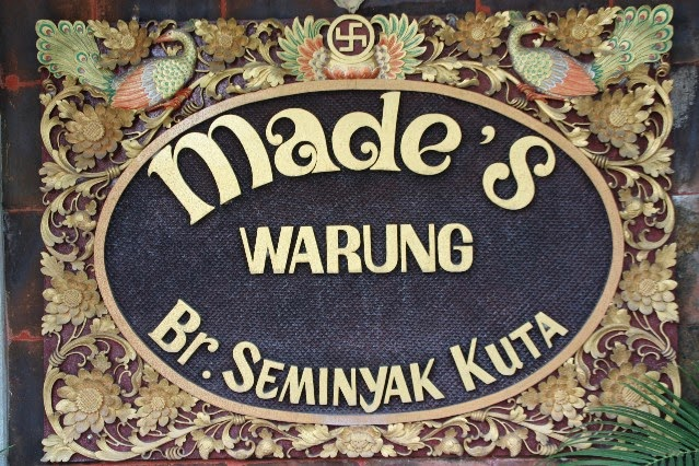 s Warung is 1 of the around famous Republic of Indonesia  Beaches in Bali: Made's Warung Kuta Bali