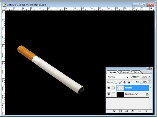 Kumpulan Tutorial,Tips dan Trick: Cara Membuat Asap Rokok