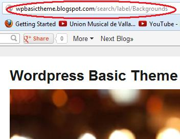 search url for blogger categories