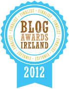 Blog Awards Ireland Finalist 2012