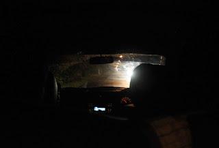 di dalam mobil