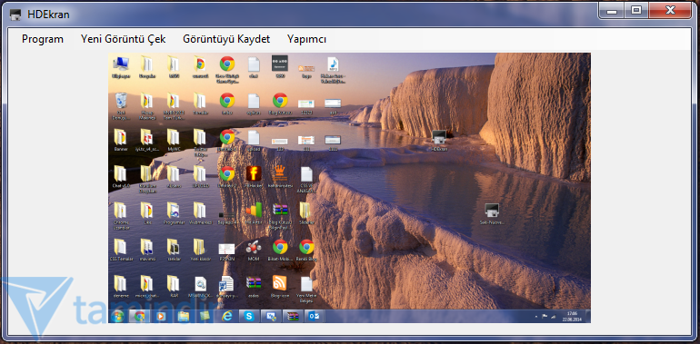 HDEkran Ekran Görüntüsü Alma Programı
