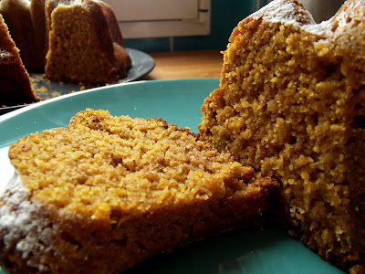 Bundt Cake de calabaza, delicioso - Pumpkin Bundt Cake