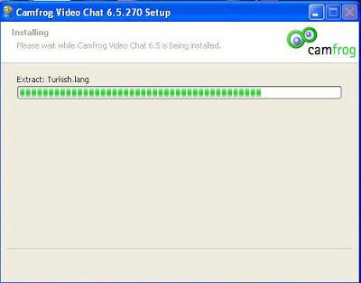 Proses Install Camfrog 6.5