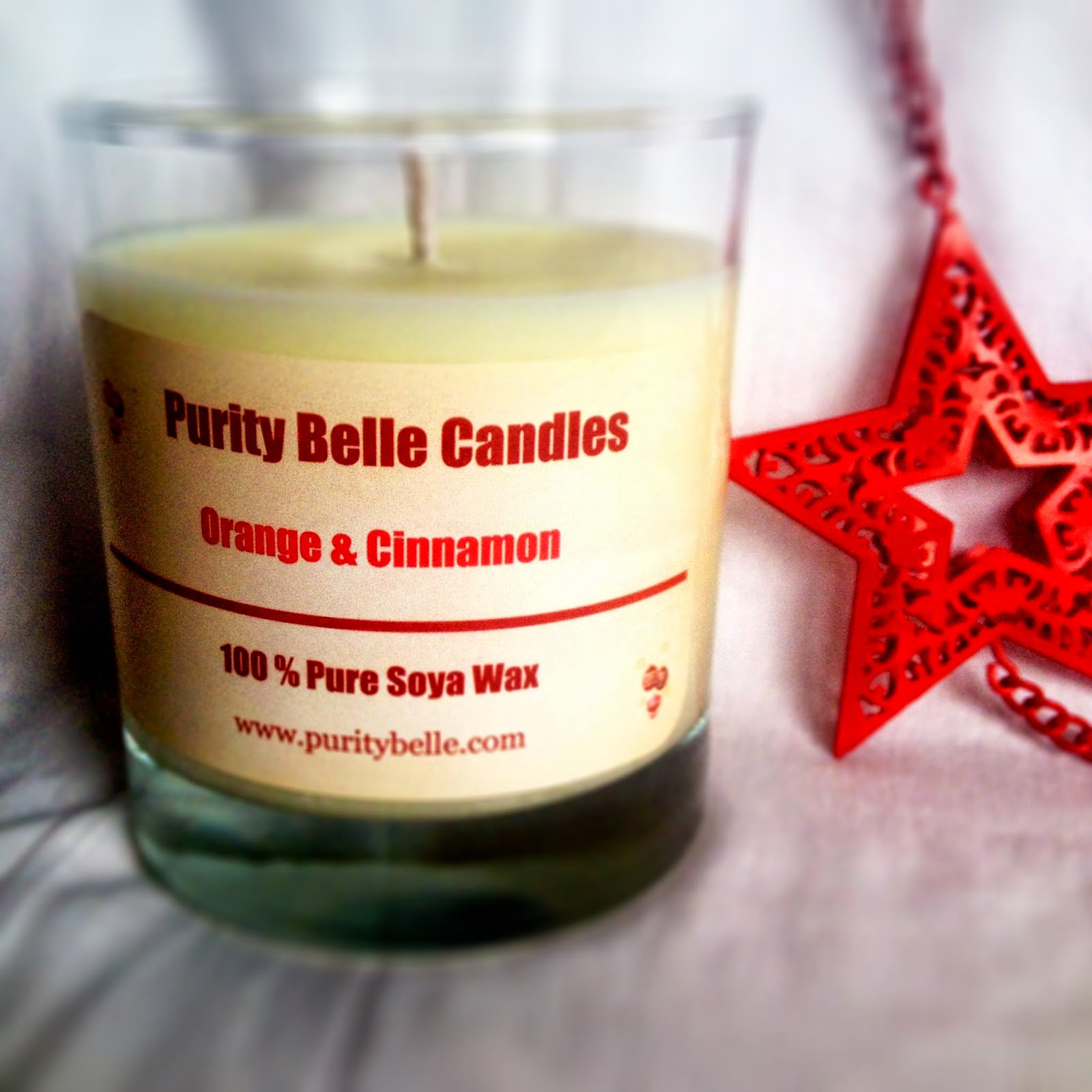 Orange & Cinnamon Candle Purity Belle