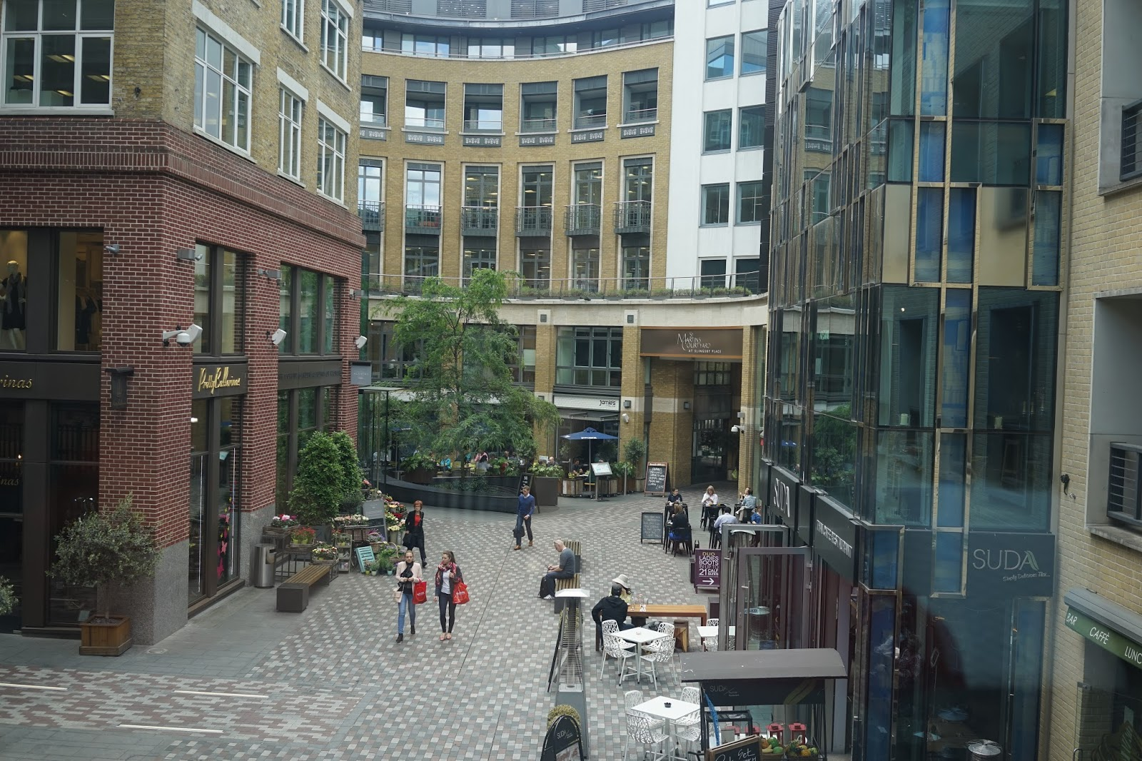 St Martins Courtyard London