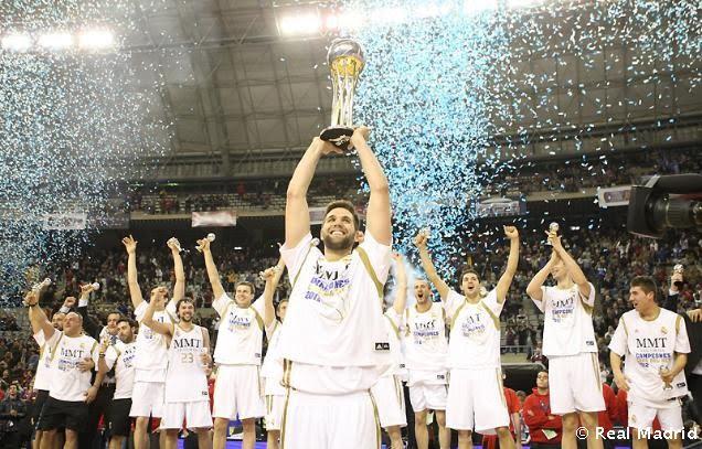 Real Madrid campeón de la Copa del Rey de baloncesto 2012