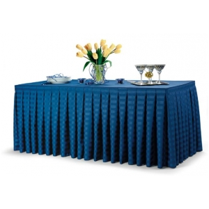 The Box Pleats Give The Table A Neat, Tailored Appearance. Box Pleats Have  A More Pronounced Projection Than A Simple Knife Pleat, Adding Dimension  And ...