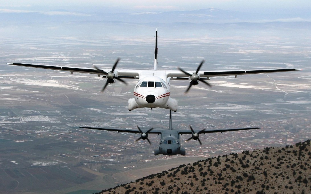 CN-235 Aircraft Wallpaper 1