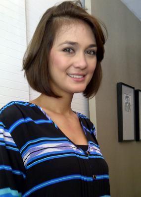 Luna Maya Menjadi Model Video Clip D'Bagindas
