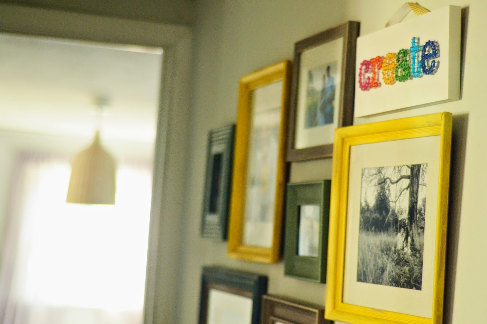 natalie creates: the honaker homemaker giveaway + my gallery wall in ...