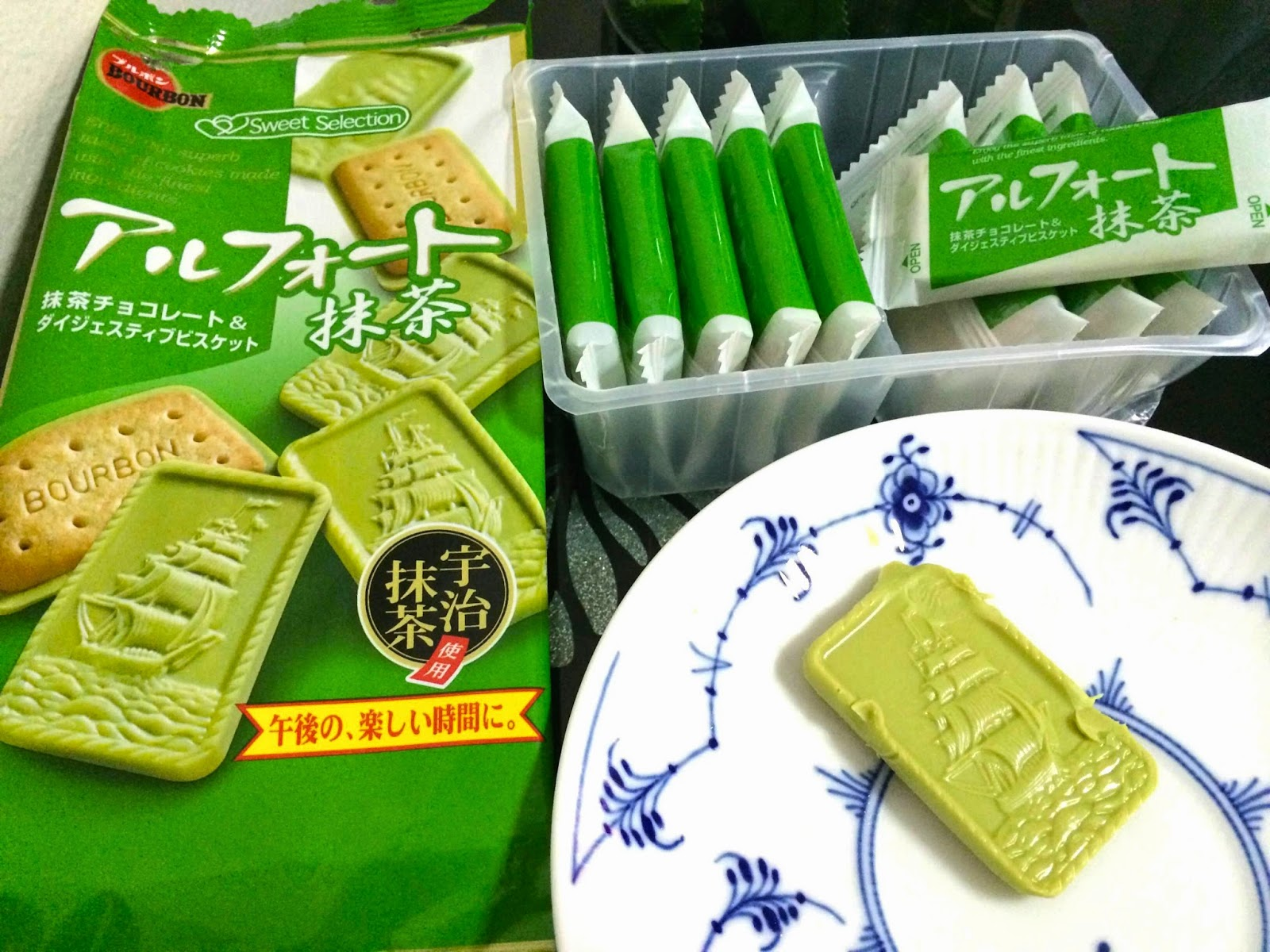 japanese matcha snack sweets japan alfort