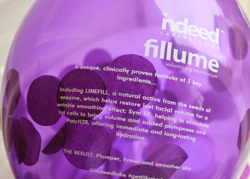 New Indeed Labs Fillume Volumising Moisturiser