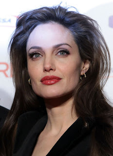 Angelina Jolie beautiful hairs 2013