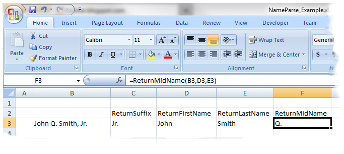 how to change the autor name in excel