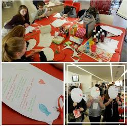 """Atelier d'écriture créative """"Ballons messagers"""""""