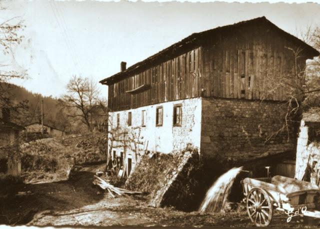 Moulin à papier de Laga, Ambert, Puy-de-Dome, Auvergne.