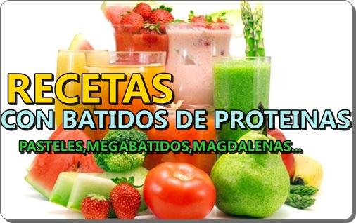 Recetas con batidos de proteínas | Atopedegym