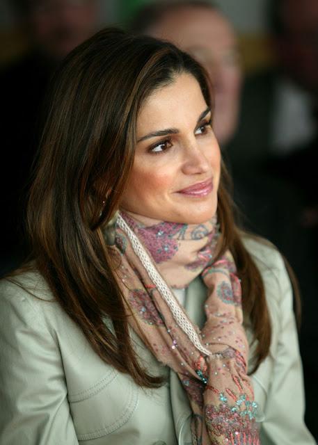 Queen Rania of Jordan releases official portrait to mark