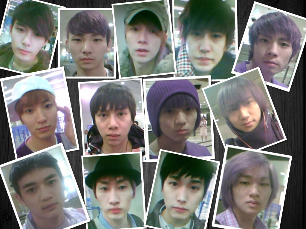 Shinee without makeup
