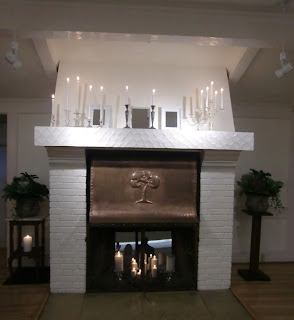 Clise Mansion fireplace    Photo by Patricia Stimac