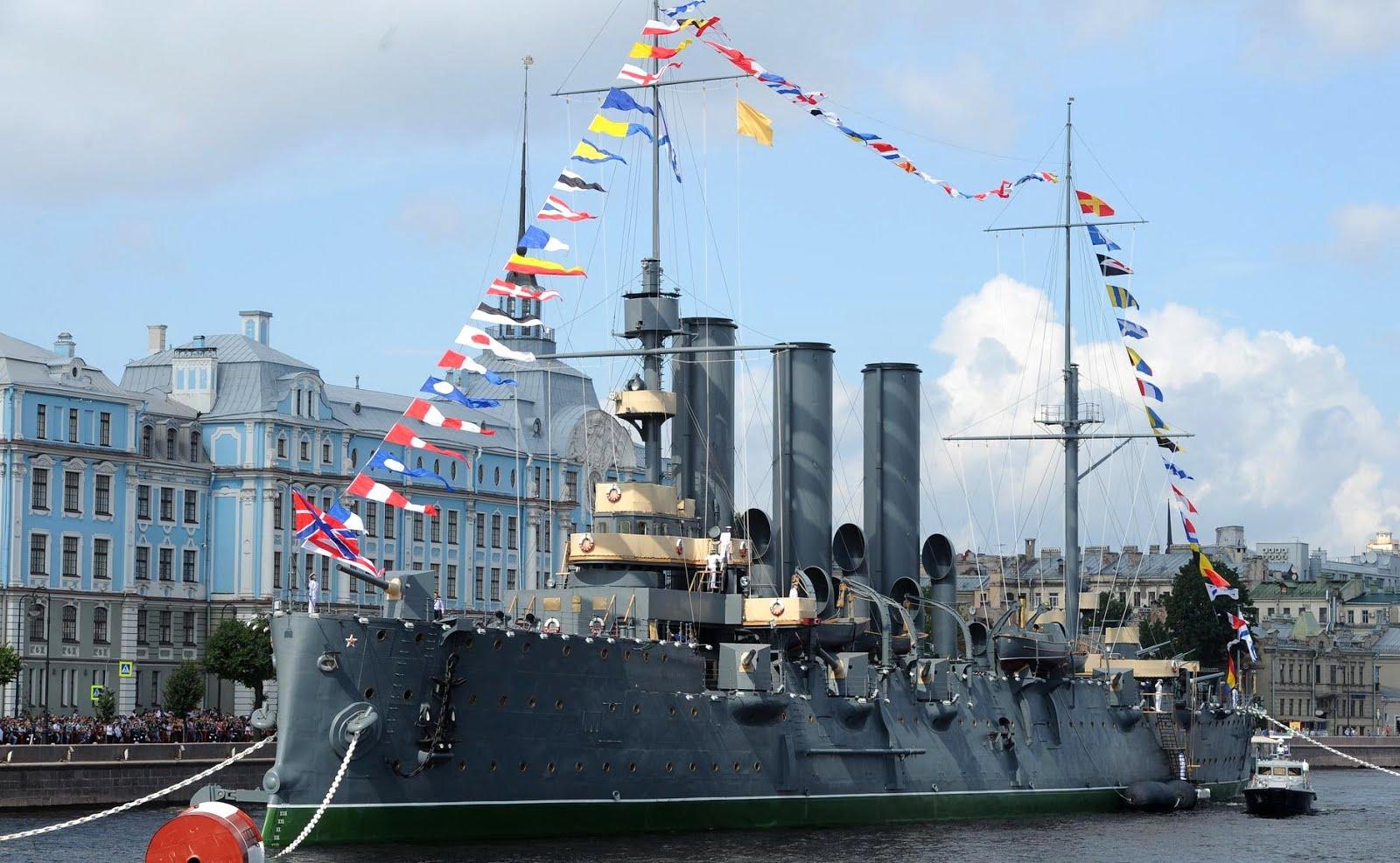 31 lipca 2016r. Rosja - dzień rosyjskiej Marynarki Wojennej