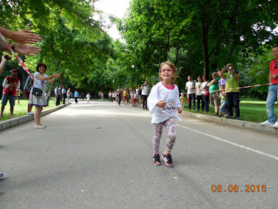 cei mai mici alergatori cu spirit olimpic