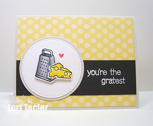 You're the Gratest card-designed by Lori Tecler/Inking Aloud-stamps from Lawn Fawn