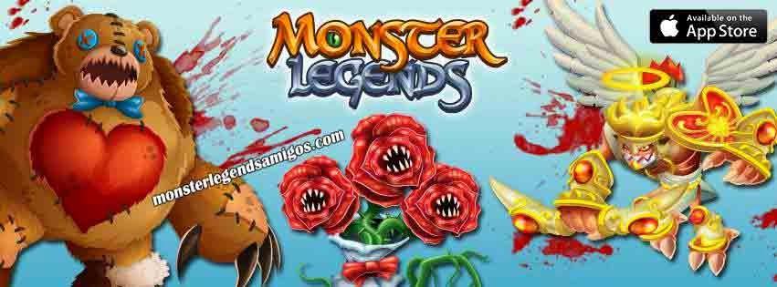imagen de los proximos monstruos de san valentin de monster legends