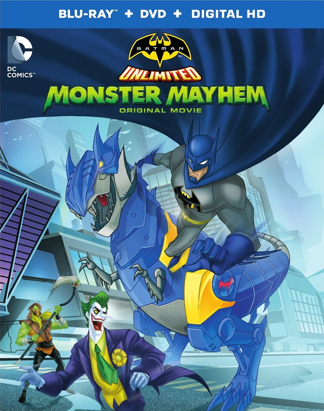 Quái Vật Nổi Loạn Lồng tiếng - Batman Unlimited: Monster Mayhem