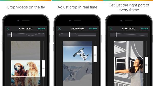 تحميل تطبيق قص مقاطع الفيديو | Crop on the Fly | أيفون