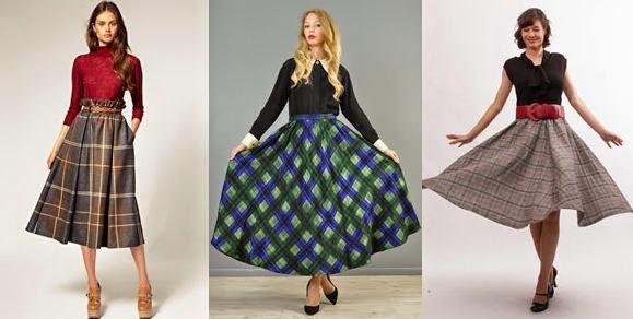 Модели юбок в 2014