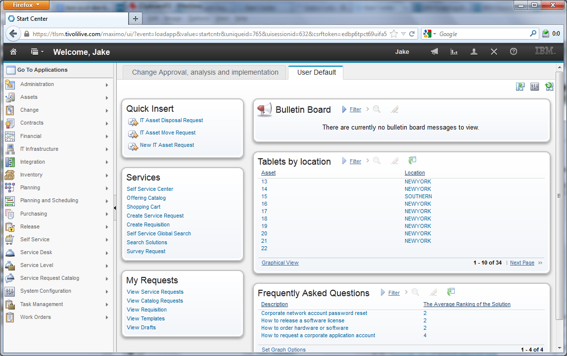 Great SmartCloud Control Desk 7.5 And Maximo 7.6 Have Introduced New UI Skins And  Navigation Behavior. Design Ideas