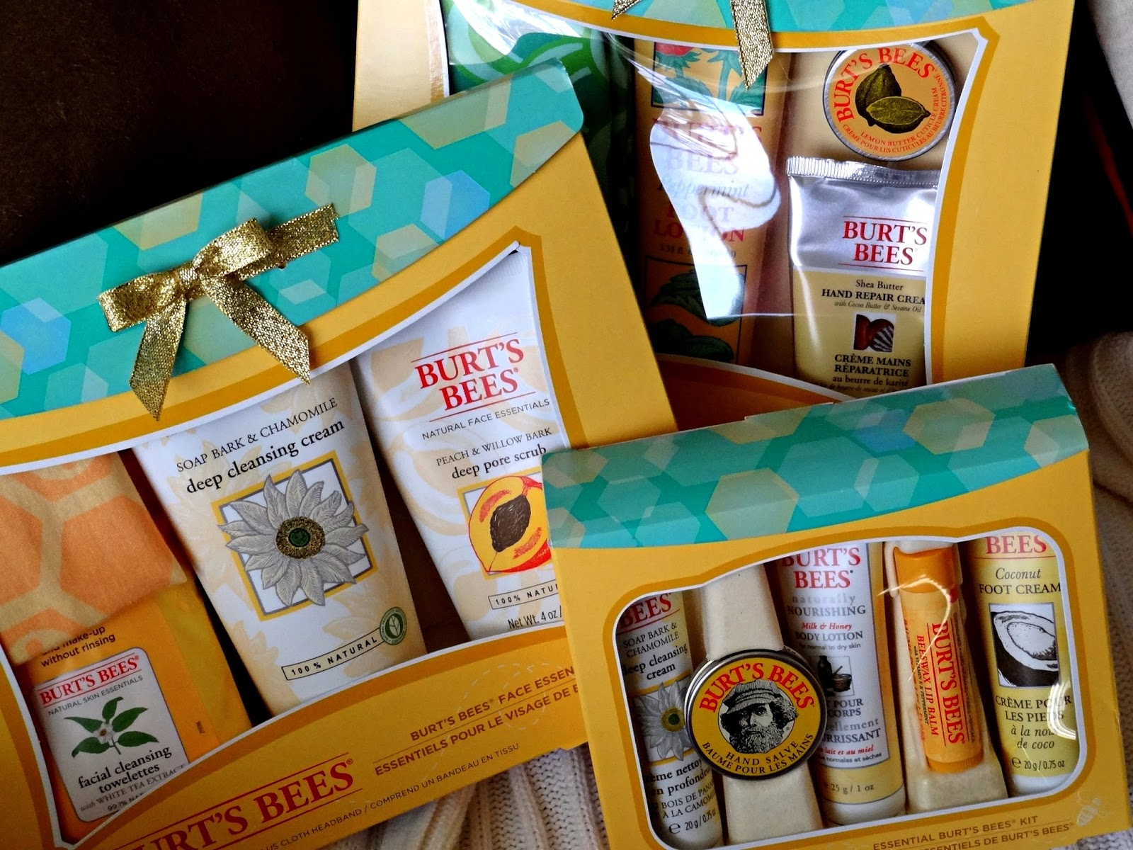 Burt's Bees Holiday kit 2014