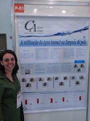 Minha apresentação sobre a Limpeza de pele Termal no 20º Congresso Brasileiro de Cosmetologia 2012.